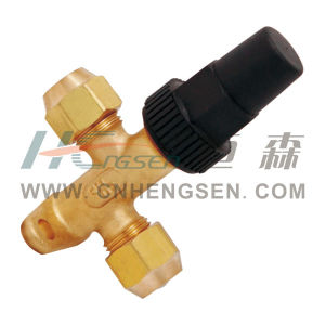 Brass Discontinue Valve Refrigeration Parts Air Conditioner Parts pictures & photos