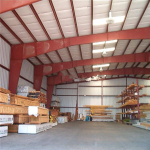 Certificated Prefabricated Warehouse Made of Light Steel Structures pictures & photos