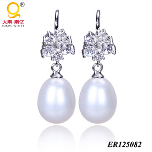925 Sterling Silver Pearl Earrings (BR125082) pictures & photos
