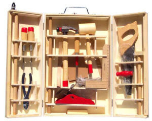 Wooden Toy Wooden Tool Box--31 PCS pictures & photos
