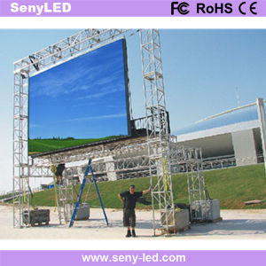 Outdoor P5.95 Die-Casting LED Rental Display Screen pictures & photos