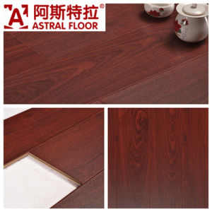 12mm Silk Surface (U Groove) Laminate Flooring (AS8117) pictures & photos