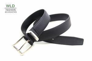 Classic and Basic Man Belt with Split Leather Linning Belt M884 pictures & photos