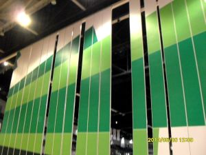 China Aluminum Soundproof Partitions Walls for Stadium, Training Center