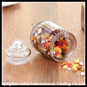 Clear Straight Jar / Glass Candy Jar