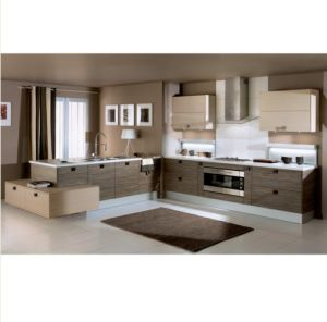 Top Design Kitchen Cabinet, Germany PVC