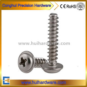 Carbon Steel/Stainless Steel Pan Head Self Tapped Screws with Collar pictures & photos