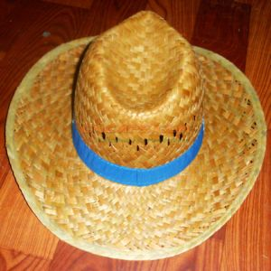 49846637664 China Custom Design Straw Cowboy Hat with Logo Printing Hat Band ...