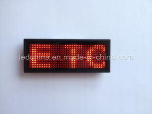 English Version LED Name Badge pictures & photos
