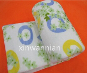 High Quality 100% Polyester Polal Fleece Blanket for Baby (XWN-BSH016)