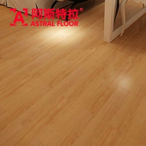 8mm&12mm HDF AC3/AC4 Mirror Surface Laminate Flooring (AD386) pictures & photos
