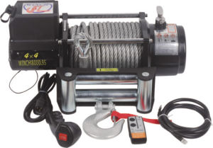 CE Approved 18000 Lb 4X4 Winch