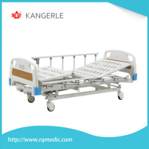 ISO/CE Adjustable Hospital Bed. Manual Hosptial Bed.