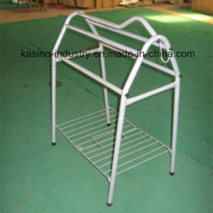 High Quality Floor Type Horse Saddle Hang Stand/Saddlery Display Racks pictures & photos