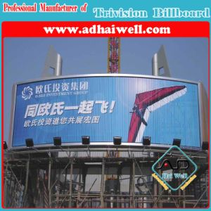 Top Roof Advertising Trimedia Trivision Display