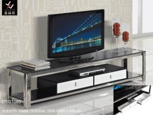 Home Hotel Modern Stainless Steel Tv Entertainment Unit Dsg1080