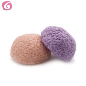 China Natural Face Cleaning Washing Sponge Konjac Facial