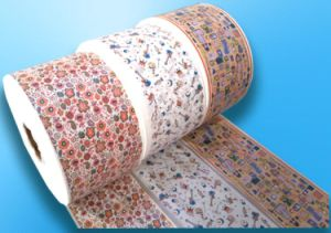 Disposable Protective PE Flexo Printing Film for Baby Diaper pictures & photos