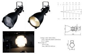 750W Profile Light Source Four Light Stage Lighting pictures & photos