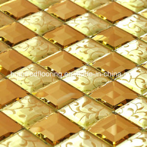 Diamond Glass Mirror Mosaic Tile (HD044) pictures & photos