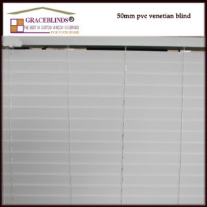"High Profile Metal Head Rail 2"" Fauxwood Blinds pictures & photos"