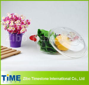 High Borosilicate Glass Round Food Storate Box with Glass Cover pictures & photos