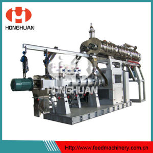 Hhphs Series Single Screw Steam Aquatic Feed Extruder pictures & photos