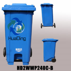 240L Plastic Garbage Bin for Outdoor From China pictures & photos