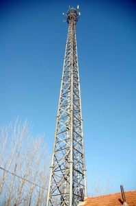 Steel Pole Telecom Tower for Overseas Project
