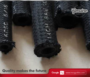 Wire Braid Textile Covered Hose (SAE 100 R5 fuel resistant) pictures & photos