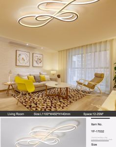 Fashion Double Glow Modern LED Ceiling Lights For Living Room Bedroom  Lamparas De Techo Dimming Ceiling