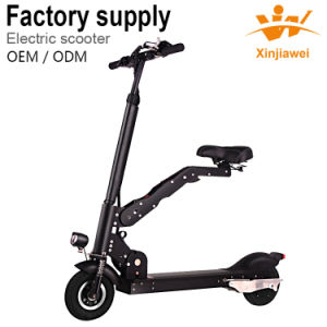 Newest Hot Selling Foldable Electric Scooter E-Bike with Seat pictures & photos