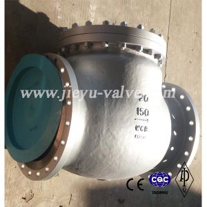 150lb 20inch Big Size Flange Wcb Swing Check Valve pictures & photos