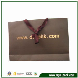 2016 Hot Selling Coffee Paper Gift Bag for Packing pictures & photos
