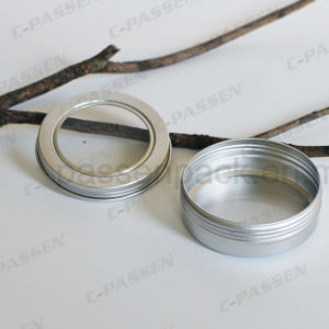Supply Aluminum Tin Can with Screw Window Lid pictures & photos