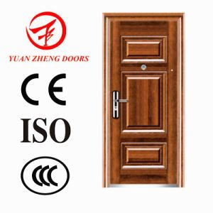 China Low Price Stainless Steel Security Door pictures & photos