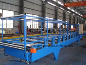 Automatic Sandwich Making Machine/EPS Sandwich Panel Machine Line pictures & photos