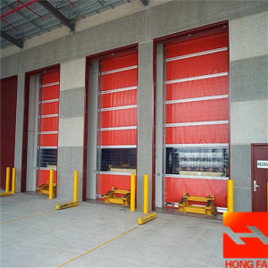 High Quality PVC High Speed Roll up Door (HF-K437) pictures & photos