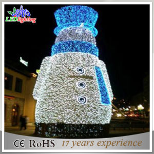 Christmas New Year Party Room LED Christmas Snowman Decoration Light pictures & photos