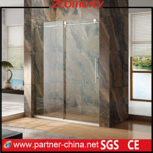 Project Elegant Bypass Shower Door Design Shower Screen Sliding Door pictures & photos