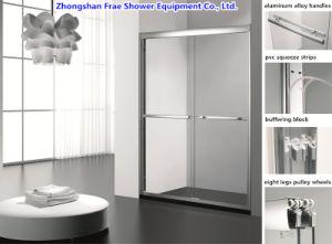 2018 Double Sliding Shower Door Screen Shower Cabin Glass Shower Door  Bathroom Cabinet Glass Shower Enclosure