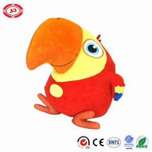 Vocabu Larry Plush Bird Big Beak Stuffed Parrot Soft Toy pictures & photos