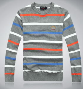 Men′s Knitted Pullover Sweater (0201) pictures & photos