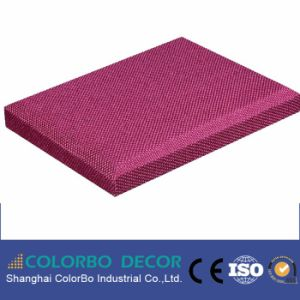 Fire-Resistance Fabric Acoustic Glassfiber Panel for The KTV pictures & photos