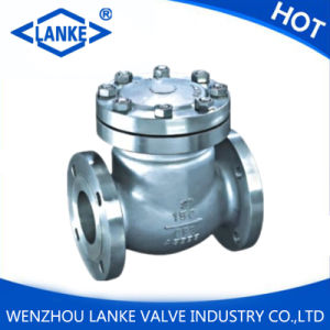 API Stainless Steel CF8/CF8m Swing Check Valve with Flange