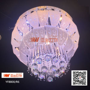 the best attitude b9c1b 593c2 Colour Changing LED Ceiling Luxury Chandelier with Crystal and Glass  (YF8800/R6)