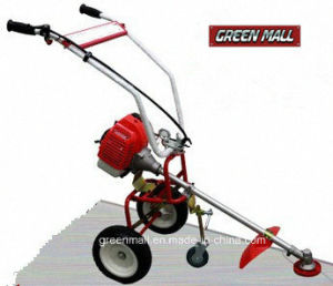 Hand-push Brush Cutter Powered by Mitsubishi Gasoline Engine (GCH-M43-01) pictures & photos
