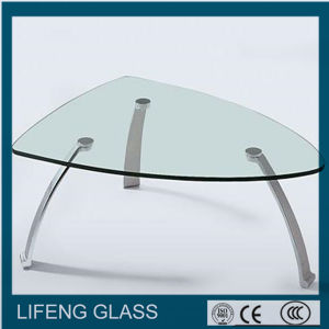 5mm, 6mm, 8mm, 10mm Tempered Glass/Tabletop Glass Table Top