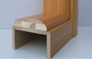 Door Jambe with Beech Veneer Fuifill pictures & photos