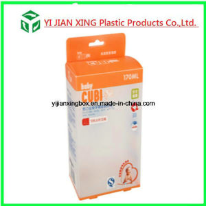 Plastic Packaging Box with Handle PP Custom Printed for Feeding Bottle